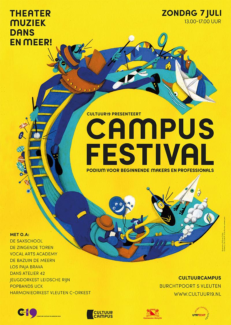 posterbeeld CampusFestival
